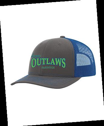 Iowa OUTLAWS Fastpitch Trucker Cap