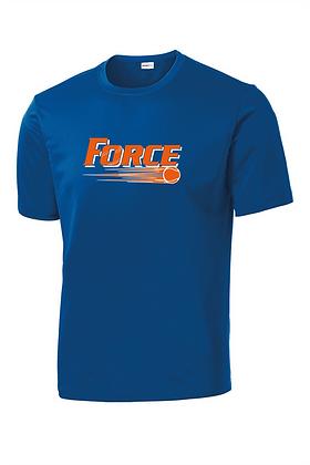 Force Softball Performance Tee(Full Logo)