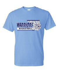 "Warriors Basketball ""Basket Logo"" Tee"