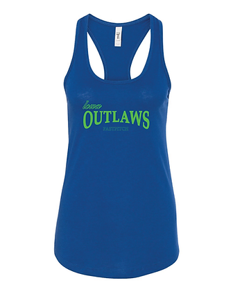 Iowa OUTLAWS Fastpitch Tank-Top -ROYAL