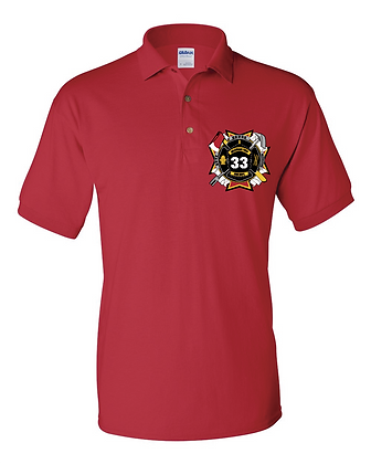 DTFD Polo Shirt - Red