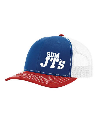 SDM JT's Trucker Cap - Red White & Blue