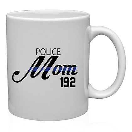 Custom Police Mom Coffe Mug