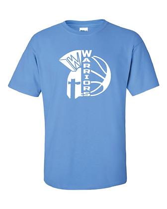 """Warriors Basketball """"Ball-Helmet"""" Tee"""