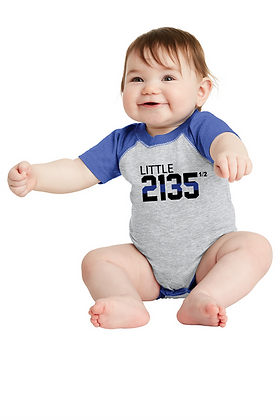 "Back the Blue ""Little"" Custom Jersey Onesie"