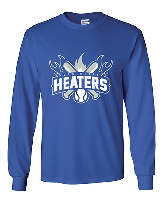 VM Heaters Youth Long Sleeve T - ROYAL