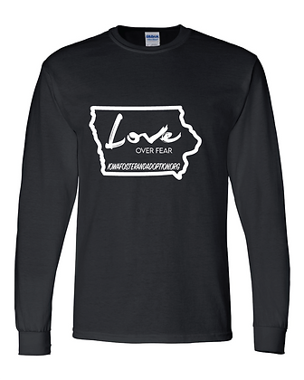 Love Foster/Adopt - Youth Long Sleeve Tee