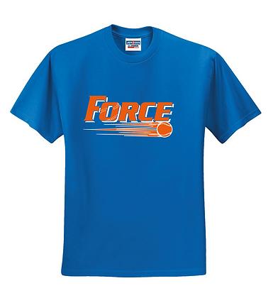 Force Softball Basic Tee (FULL LOGO)