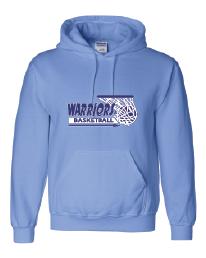 "Warriors Basketball ""Basket Logo""Hoodie"
