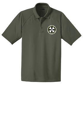 SERT Dry-Fit Tactical Polo -Tactical Green