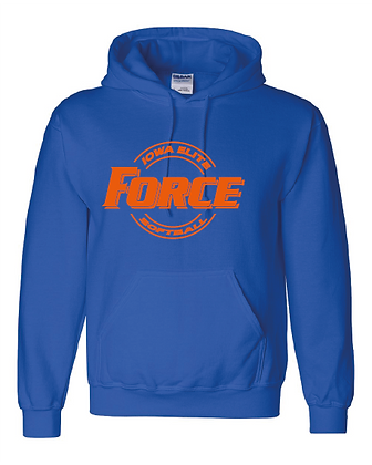 Force Softball Hoodie (CIRCLE LOGO)