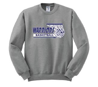 "Warriors Basketball ""Basket Logo"" Crew Sweatshirt"