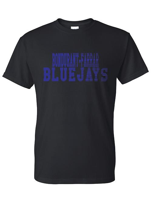 B-F Bluejays Fade Out - Black
