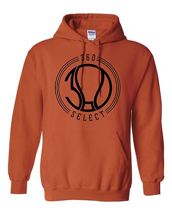 360 Select Basic Hoodie - Orange