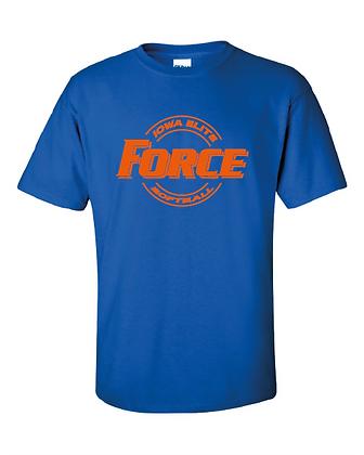 Force Softball Basic Tee (CIRCLE LOGO)