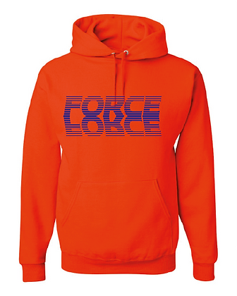 Force Softball Hoodie (FADE LOGO)
