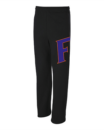 Force Softball Open Bottom Sweat Pants
