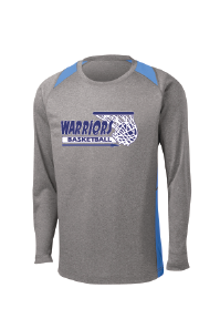 Warriors Basketball Long Sleeve Performance Contender LS Tee