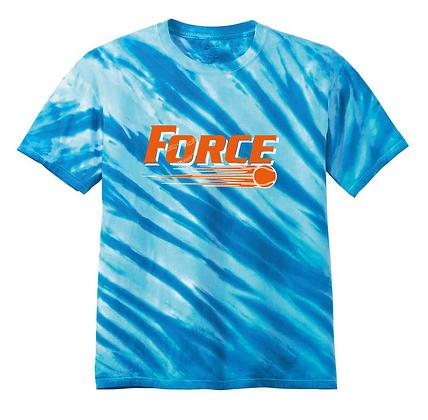Force Softball Tie-Dye Tee (Full Logo)