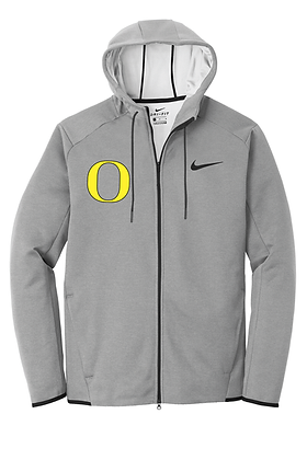 Outlaw Grey Nike Therma-FIT Textured Fleece Full Zip