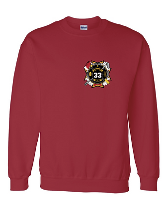 DTFD Crewneck Sweatshirt - Red