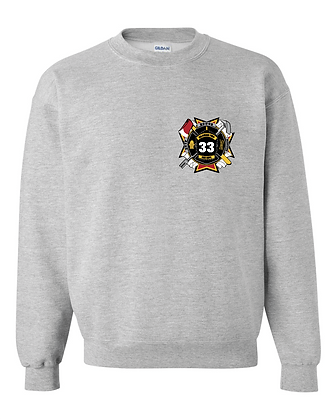 DTFD Crewneck Sweatshirt - Grey