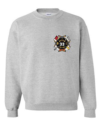 DTFD Crewneck Sweatshirt - Grey