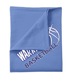 Warriors Baskeball Blanket