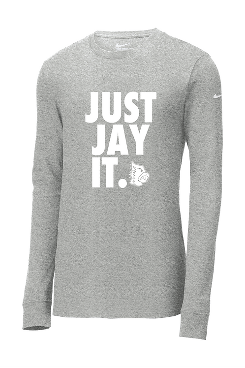 Nike Core Cotton - Long Sleeve - JUST JAY IT