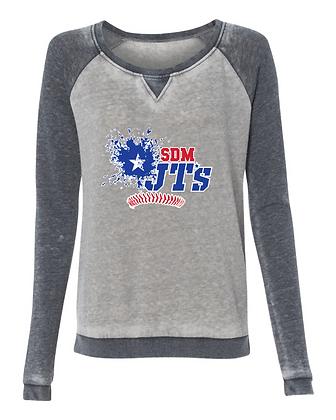 SDM JT's Womens Zen Crew Sweatshirt