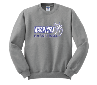 "Warriors Basketball ""Ball Logo"" Crew Sweatshirt"