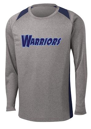 Warriors Basketball Long Sleeve Performance Contender LS Tee