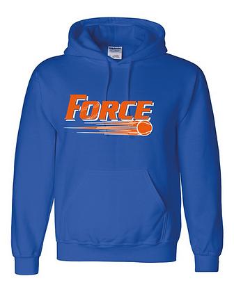 Force Softball Hoodie (Full Logo)