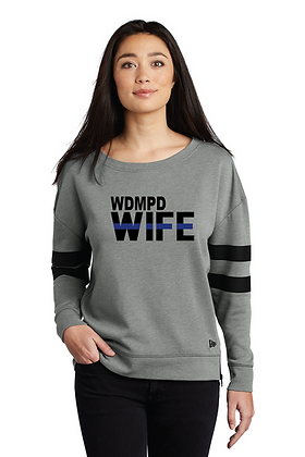 Back the Blue WDMPD WIFE Varsity Crew