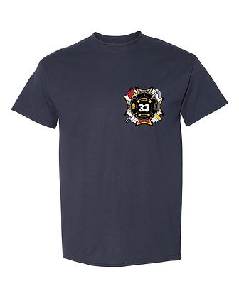DTFD T-Shirt - Navy
