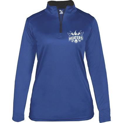 VM Heaters 1/4 Long Sleeve Pullover - Lightweight - Women's