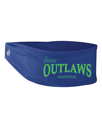 Iowa OUTLAWS Fastpitch Headband