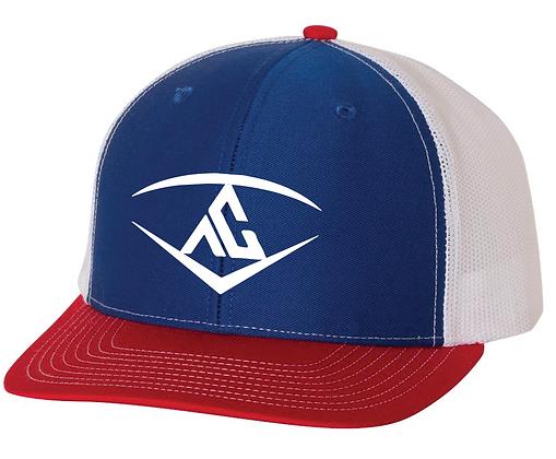 Ankeny Crew Tri-Color Cap