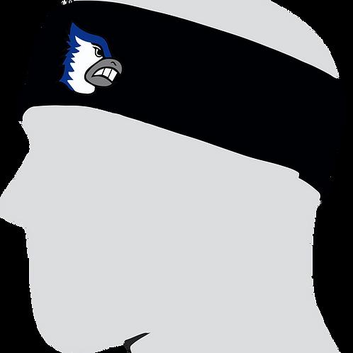 Two Inch Wide Bluejays Headband