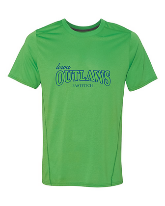 Iowa OUTLAWS Fastpitch Performance T-Shirt
