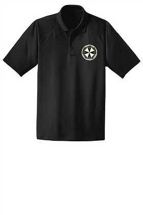 SERT Dry-Fit Tactical Polo - Black