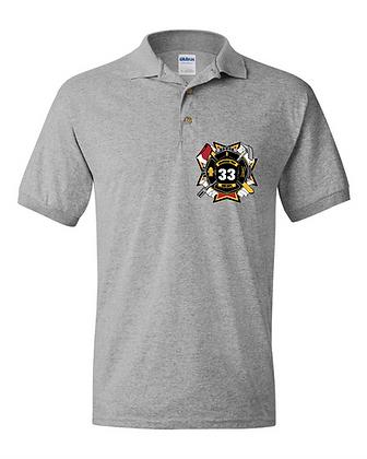 DTFD Polo Shirt - Grey