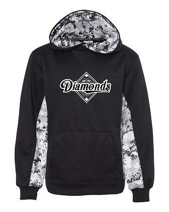 Metro Diamonds Youth Performance Hoodie