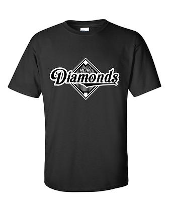 Metro Diamonds YOUTH T-Shirt Black