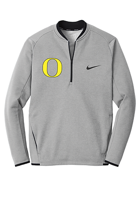 Outlaw Grey Nike Therma-FIT Textured Fleece 1/2 Zip