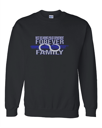 WDMPD Forever Family Crew Sweatshirt