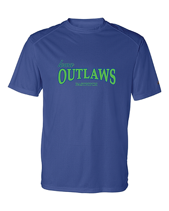 Iowa OUTLAWS Fastpitch YOUTH  Performance T-Shirt