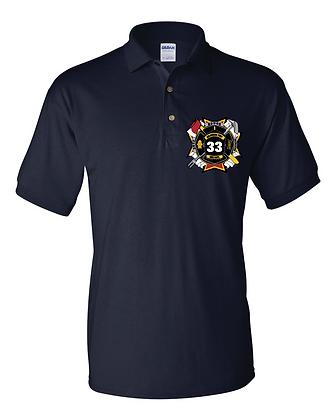 DTFD Polo Shirt - Navy