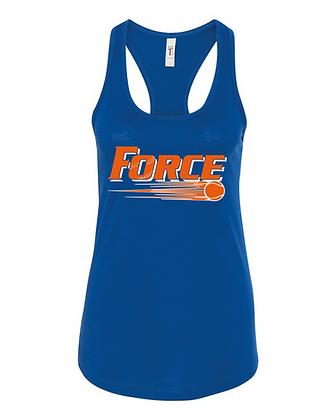 Force Softball Racerback Tank (Full Logo)