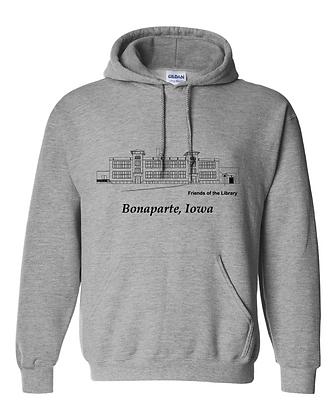 Bonaparte Hoodie - Grey